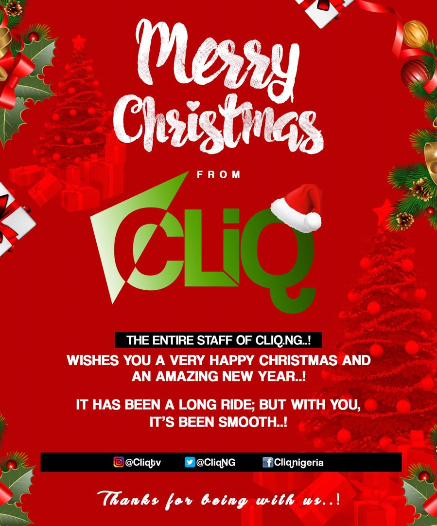 Merry Christmas To All Cliq Fans