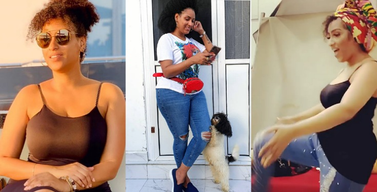 Actress Juliet Ibrahim Shows Off Her 'Zanku' Skill In New Video (Watch)