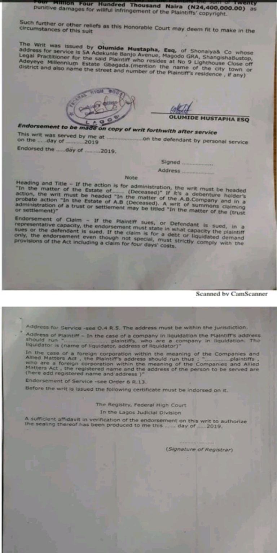 Rapper Tic Tac And Tony Tetuila Sues Wizkid Over Copyright Infringement, Demands N30m Compensation