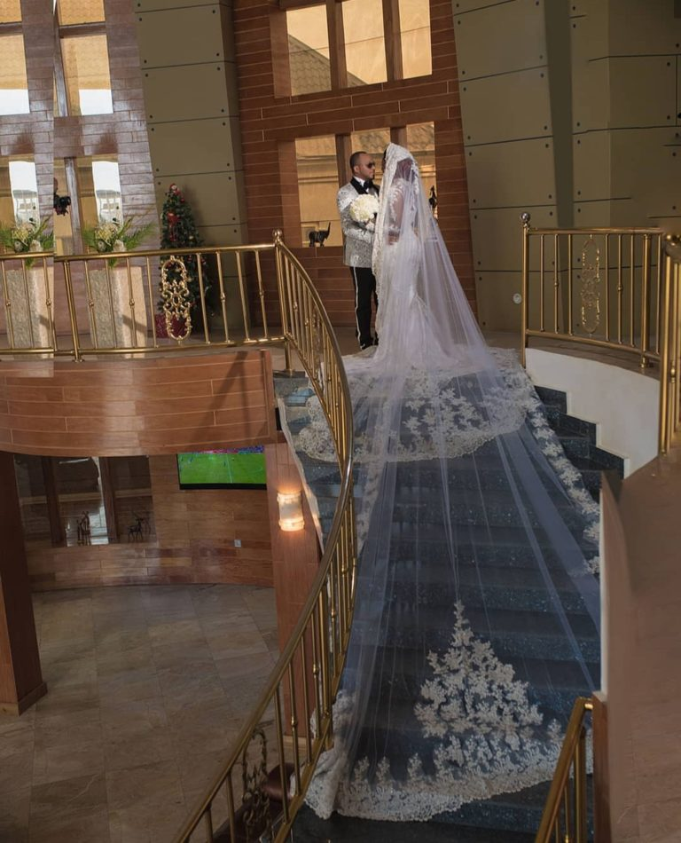 See Photos From Chizzy Alichi's White Wedding 5