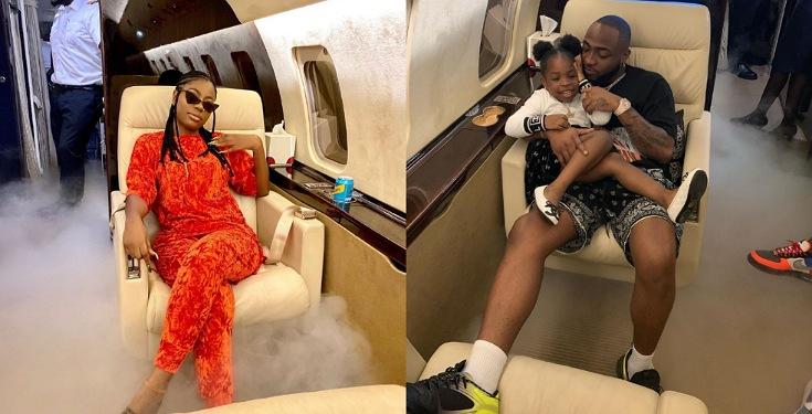 Davido Takes His First Babymama, Sophia Momodu On Vacation To Ghana (Photos)