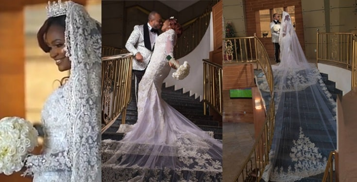 See Photos From Chizzy Alichi's White Wedding