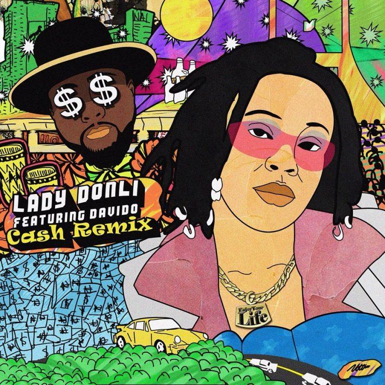Lady Donli Ft. Davido Cash Remix Mp3 Download