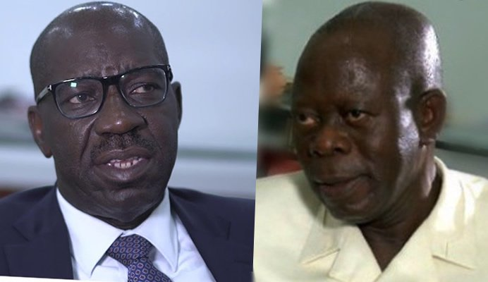 Obaseki Is Not A Threat Because He Is Not Eligible To Contest Elections - Oshiomhole