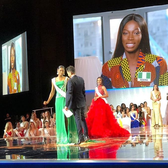 Miss Nigeria Becomes Miss World Africa 2019 (Photos)