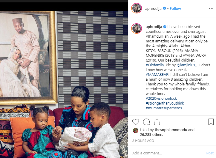 Singer Di'ja And Husband Welcome Third Child