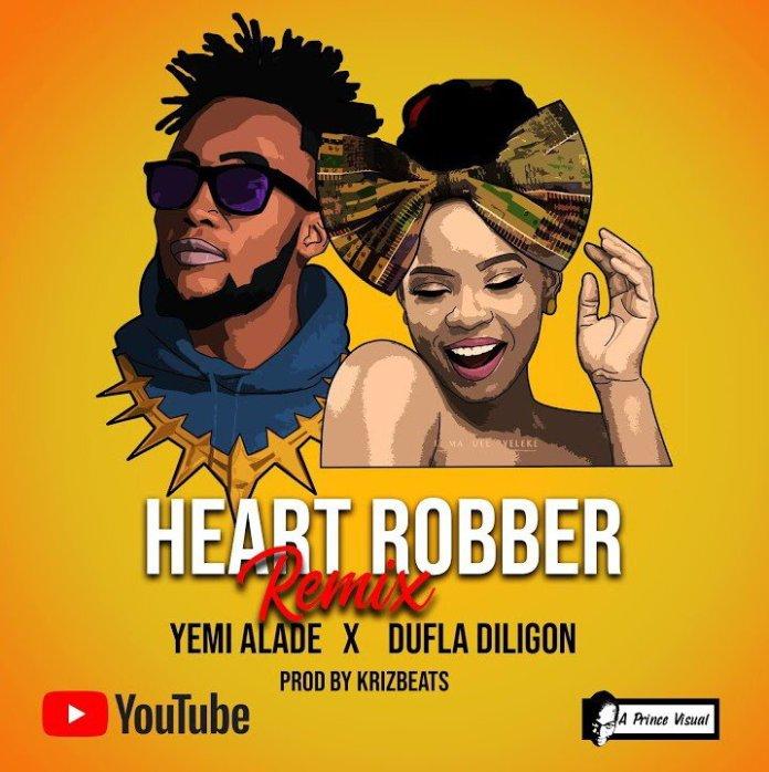 Yemi Alade ft. Dufla Diligon – Heart Robber (Remix)