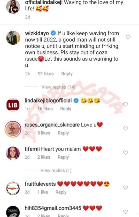 A Good Man Can Not Notice You – Wizkid Slams Linda Ikeji