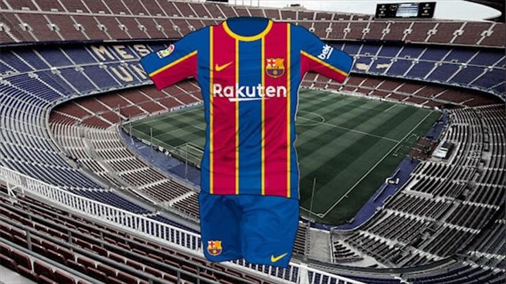 FC Barcelona's 2020/2021 Home Kit Reportedly Leaked
