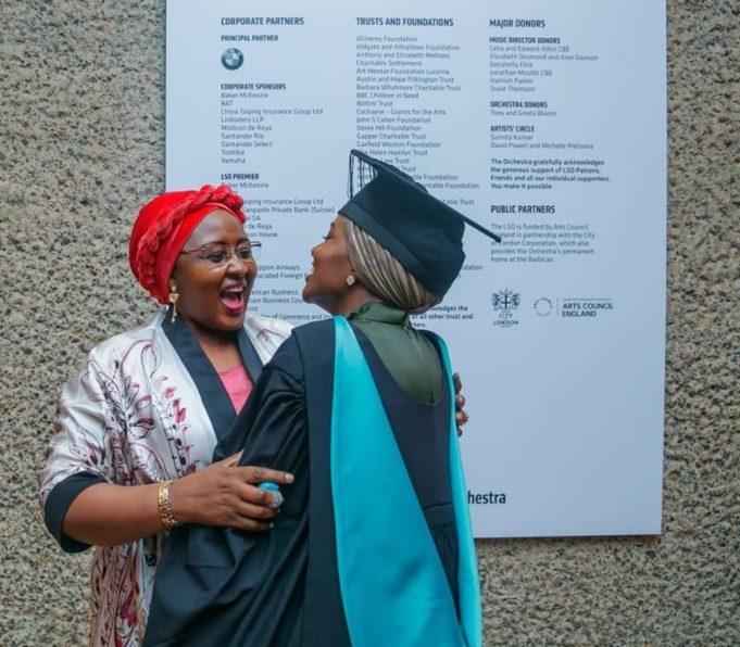 President Buhari's Daughter, Hanan, Graduates With First Class From UK University