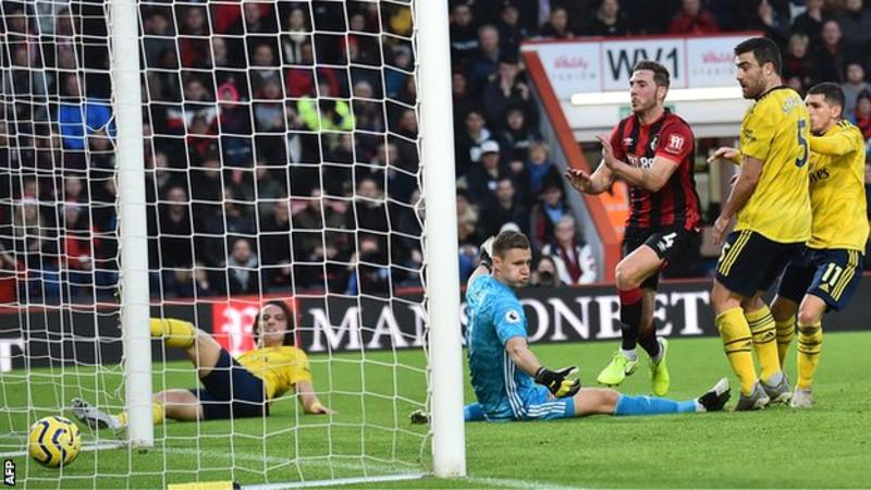VIDEO: Bournemouth 1 – 1 Arsenal — English Premier League Highlight