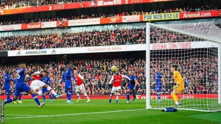 VIDEO: Arsenal 1 – 2 Chelsea — English Premier League Highlight