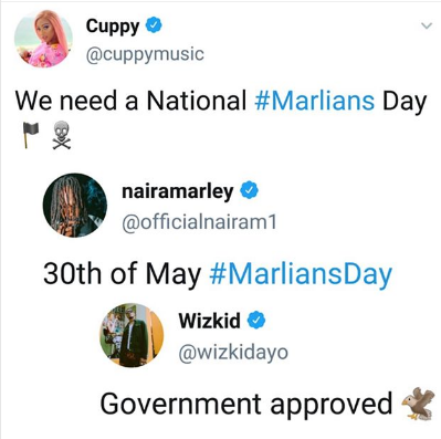 Naira Marley Officially Declares 30th Of May As Marlians Day