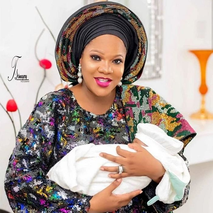 Toyin Abraham's Baby Becomes Nigeria's Most Influential Baby (Photo)