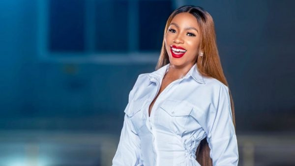 #BBNaija's Mercy Eke Seen On Bike In Lagos (Video)