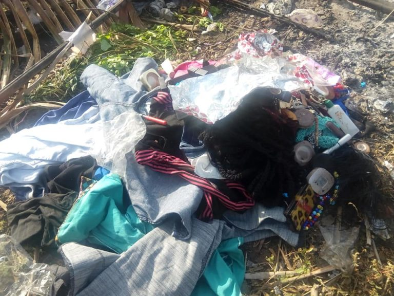 Nigerian Lady Burns Her Makeup Kit, Wigs & Trousers As She Gives Her Life To Christ (Photos) 10