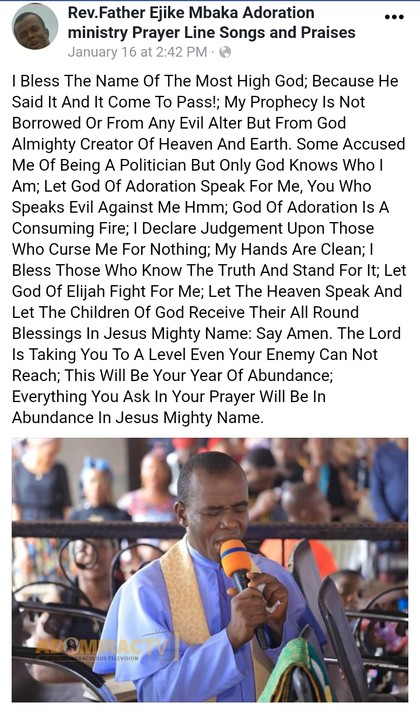Father Mbaka Speaks After Being Attacked For His Prophecy About Imo Governor 5