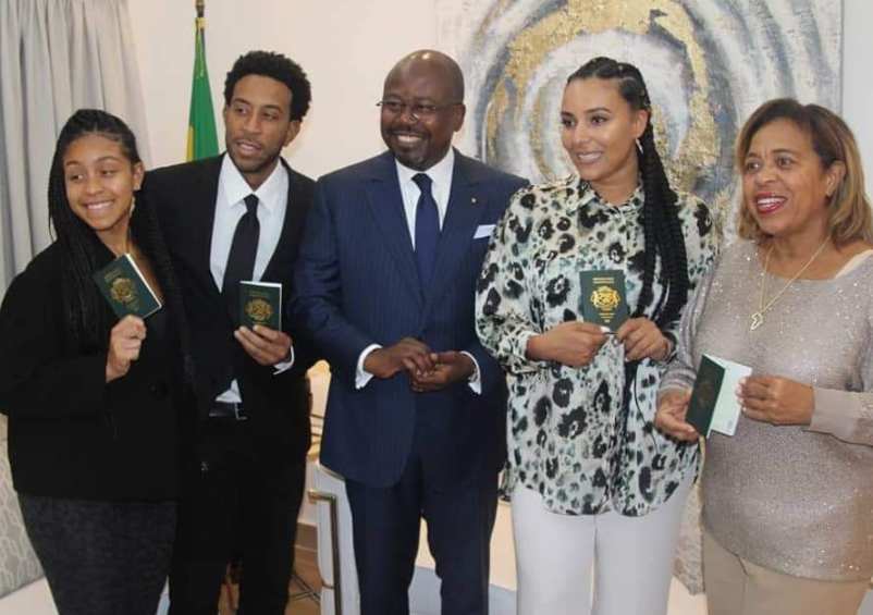 American Rapper, Ludacris And His Family Are Now Citizens Of Gabon (Video)