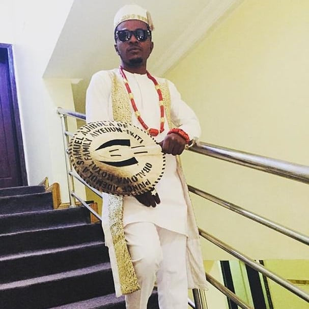 First Photos From The Johnsons Star, Sam Ajibola aka Spiff's Wedding In Anambra