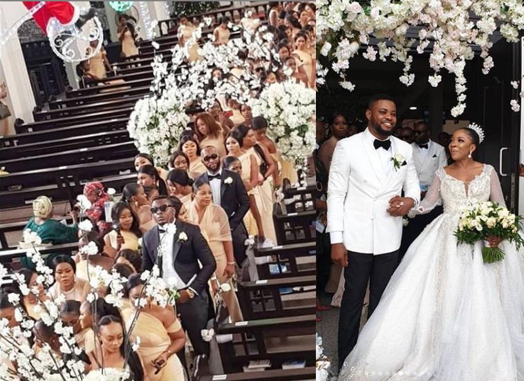 Sandra Ikeji Weds With 200 Bridesmaids (Photos) 5