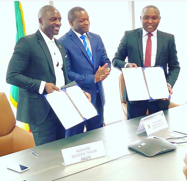 Akon Announces Finalization Of The Agreement For Establishment Of Akon City In Senegal
