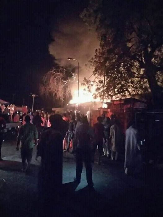 Sokoto Market Gutted By Fire, Shops Destroyed