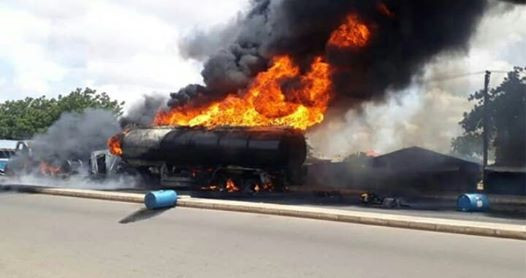 Many People Perish As Tanker Explodes In Benue (Photos)
