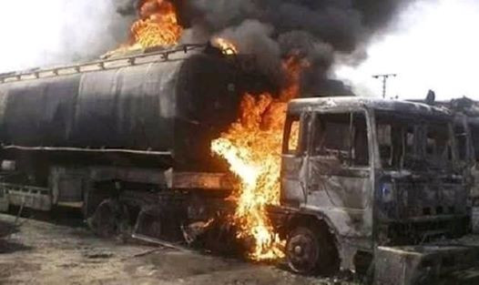 Many People Perish As Tanker Explodes In Benue (Photos) 2