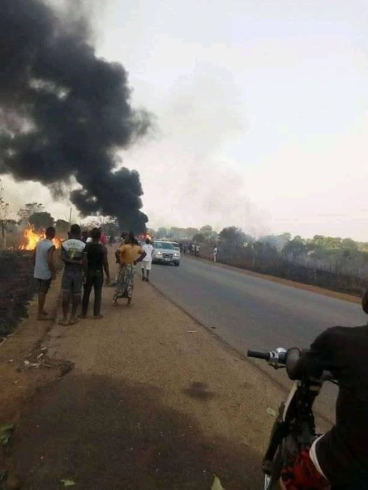 Many People Perish As Tanker Explodes In Benue (Photos) 16