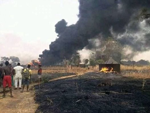 Many People Perish As Tanker Explodes In Benue (Photos) 18