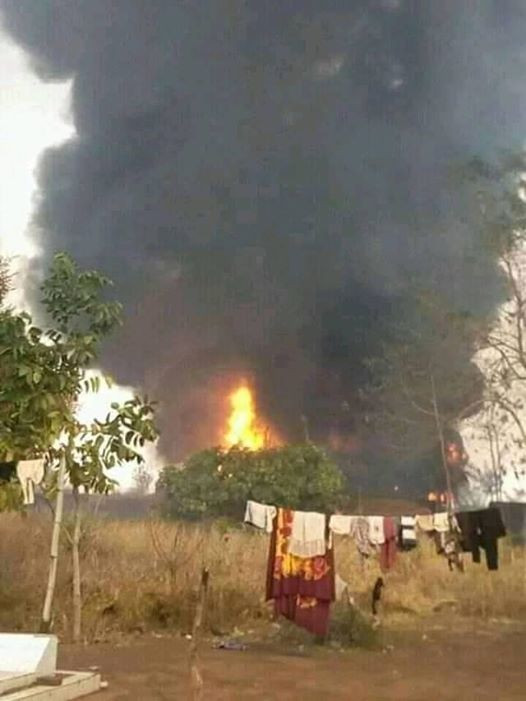 Many People Perish As Tanker Explodes In Benue (Photos) 17