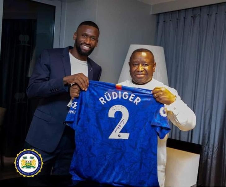 Chelsea Defender Rudiger Donates $101,000 To Support Free Education In Sierra Leone