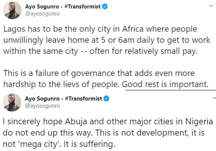 """Lagos Is Not A Mega City, It Is For Suffering"" – Ayo Sogunro"