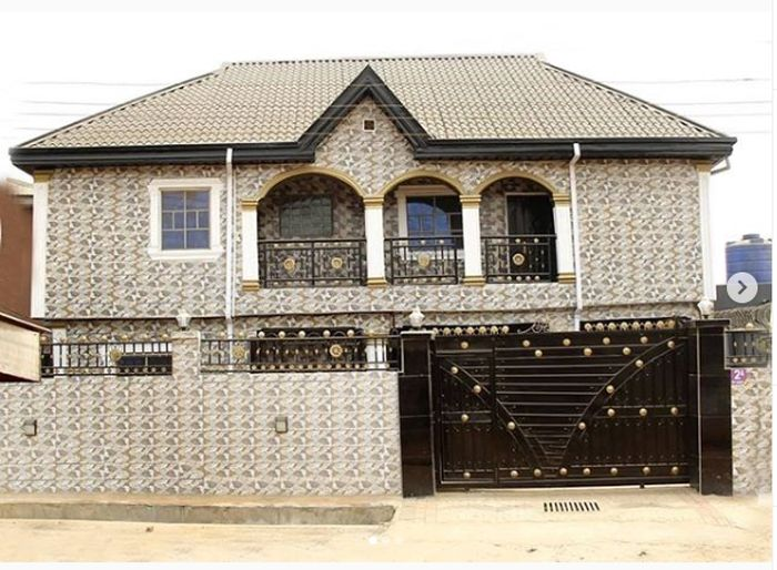 MC Oluomo Shares Photos Of The House His Wife Just Built