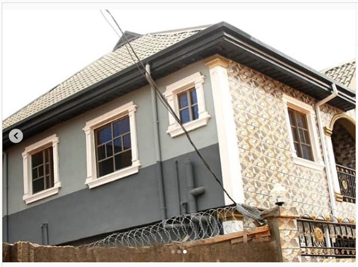 MC Oluomo Shares Photos Of The House His Wife Just Built 9