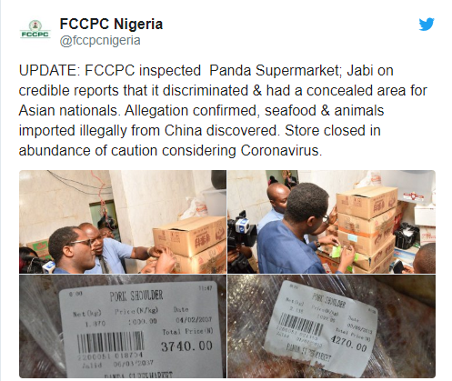 Coronavirus: FG Shut Down Chinese Supermarket Where Products Have Expiry Date Of 2089, 2073 And 2037 In Abuja 16