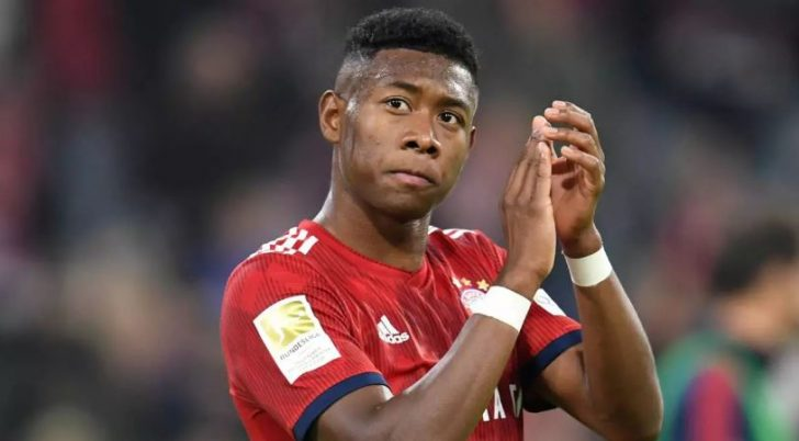 Chelsea Set To Sign Bayern Munich's David Alaba For £60m