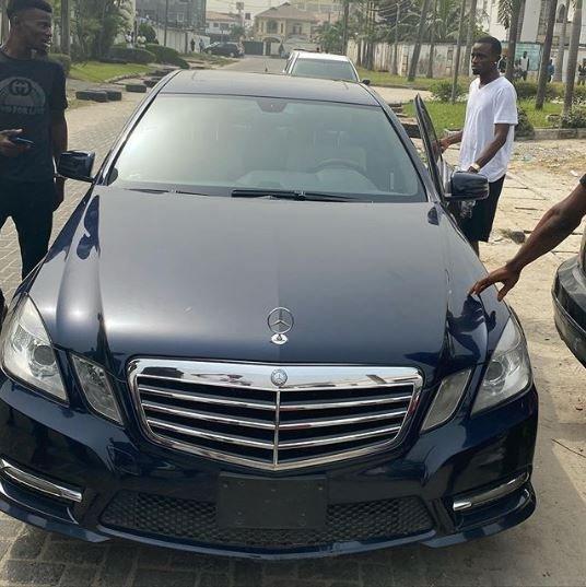 Davido's PA, Aloma Acquires New Mercedes Benz (Photo) 8