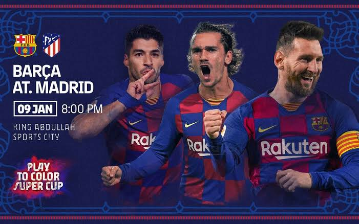 Barcelona Releases 24-Man Squad For Super Cup Match Against Atletico Madrid
