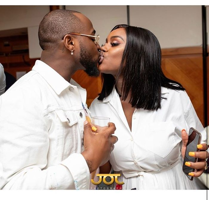 Davido's Fiancée, Chioma Reacts To Reports That The Singer Beat Her