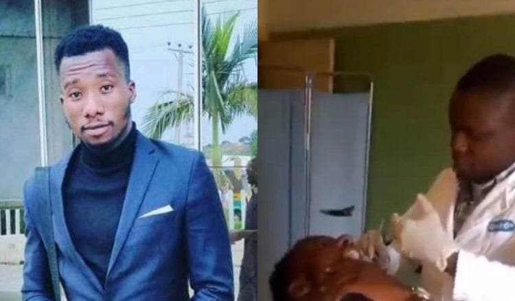 #JusticeForAlex: Dentist allegedly kills student with wrong injection 3