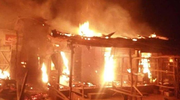 Fire Razes Osun Poly Females Hostel