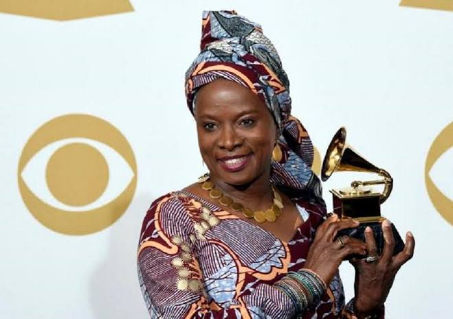 Angelique Kidjo Speaks Fluent Yoruba As She Arrives Lagos (Video)
