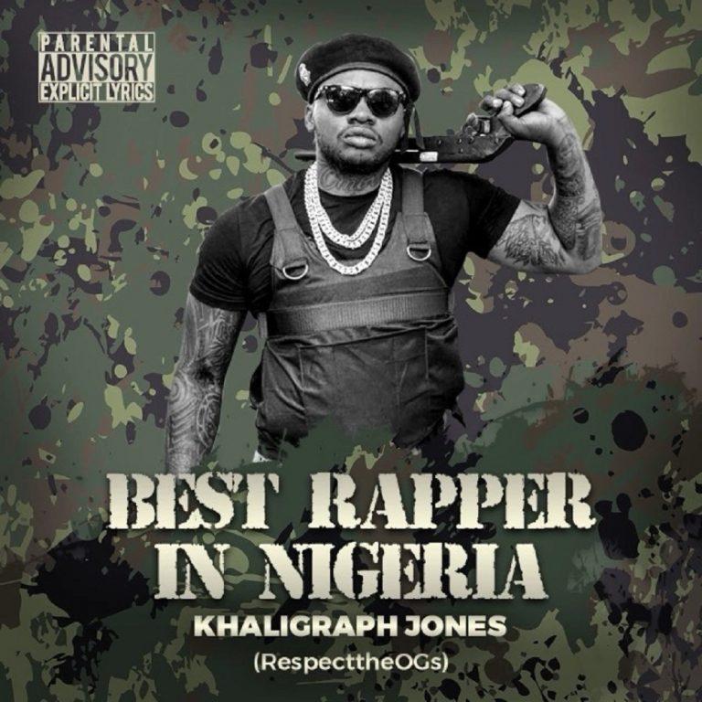 Khaligraph Jones Best Rapper In Nigeria (Blaqbonez Diss) Mp3 Download