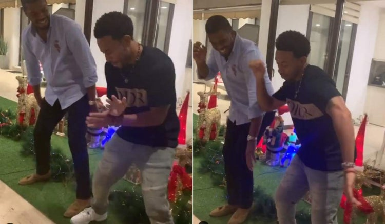 "Ludacris Seen Dancing Zanku To Zlatan and Burna Boy's ""Killin Dem"""