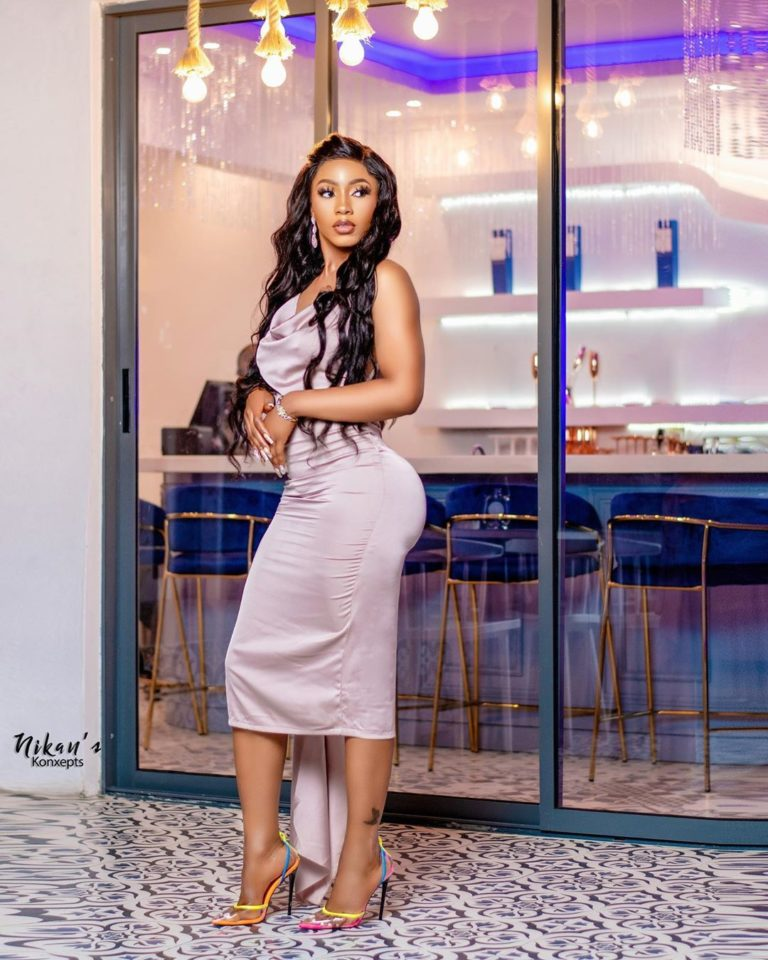 #BBNaija's Mercy Eke Shows Off Her Cars (Video)