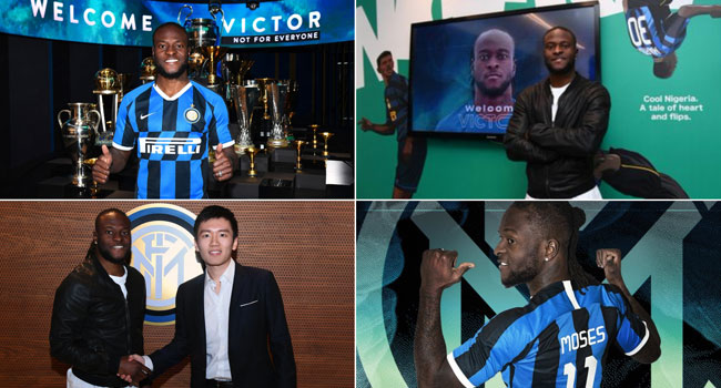 Inter Milan Signs Victor Moses On Loan
