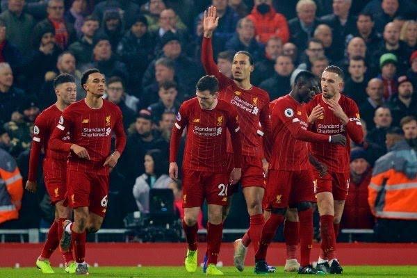 Liverpool 2 – 0 Man United