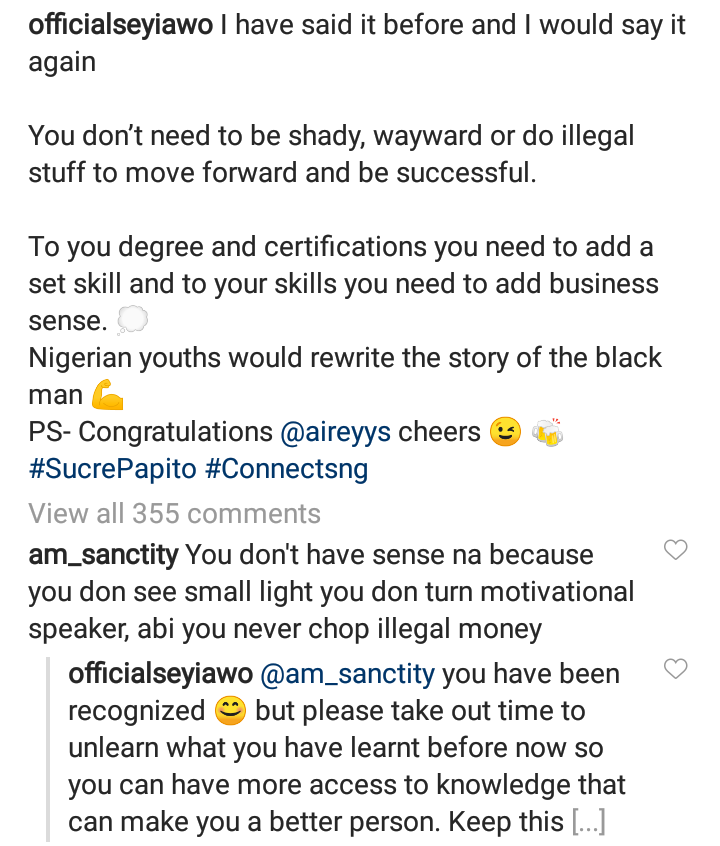 BBNaija's Seyi Attacked For Speaking Against Fraud