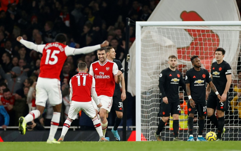 Arsenal 2 – 0 Man United EPL) Mp4 Highlight